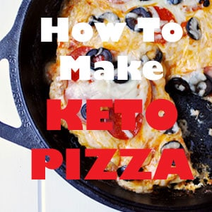 How To Make Keto Pizza [VIDEO] | KETOGASM #keto #lowcarb #meatza #lchf #weightloss #healthy #pizza #recipe #recipevideo