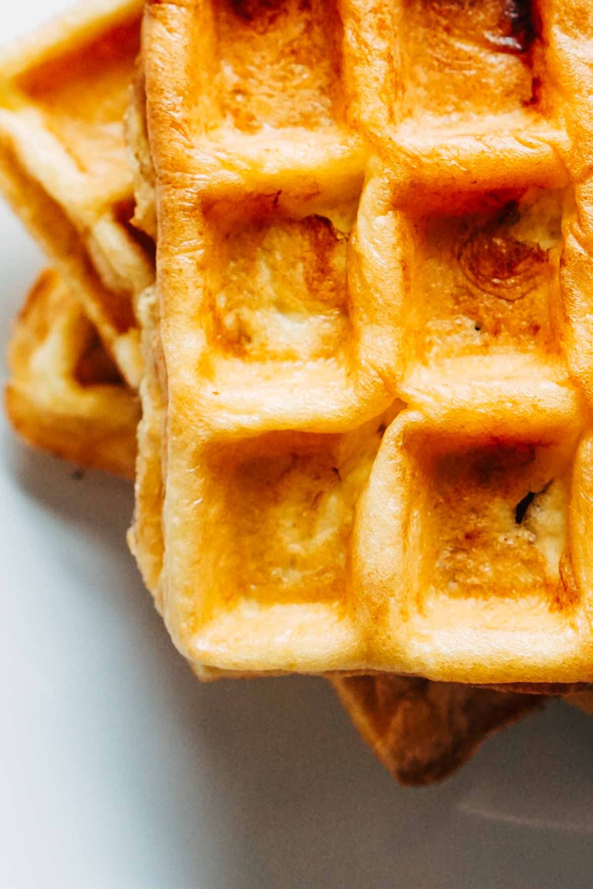 Keto Waffles Stuffed with Cream Cheese Recipe | Low Carb | Ketogenic | LCHF | Atkins Induction