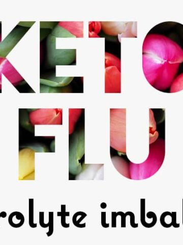 Feeling sick on keto diet? You might have an electrolyte imbalance...