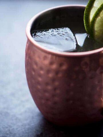 Keto Moscow Mule - Low Carb Cocktail Recipe