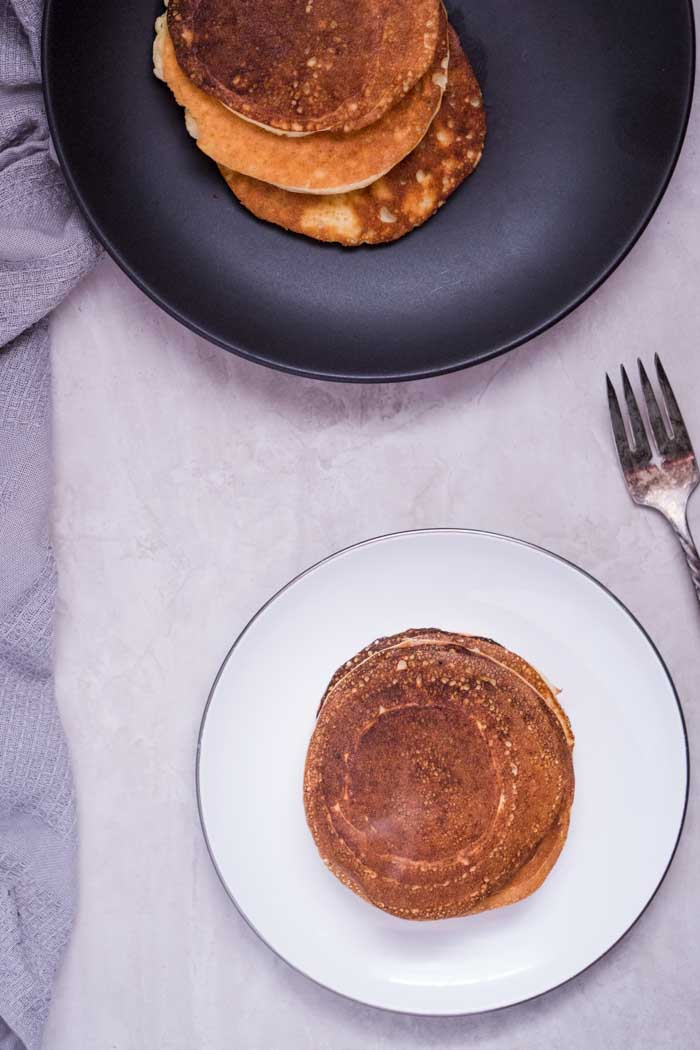 Keto Pancakes with Protein Powder Recipe - Low Carb