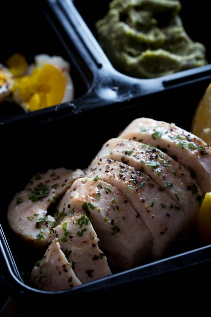 Low Carb Chicken Breast Meal Prep - Keto, Gluten Free, Healthy Lunches