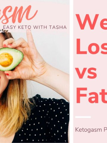 Weight Loss vs. Fat Loss Podcast Cover Image